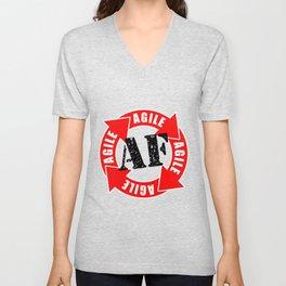 Agile AF Unisex V-Neck