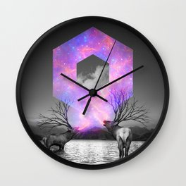 Made of Star Stuff Wall Clock