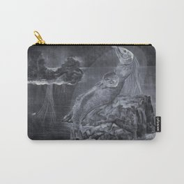 Mermaid pregnant Carry-All Pouch