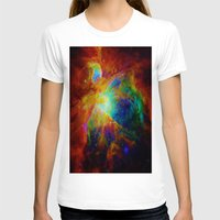 nebula T-shirts featuring Orion NEBula  : Colorful Galaxy by 2sweet4words Designs
