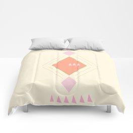 Pastel Aztec Shapes Comforters