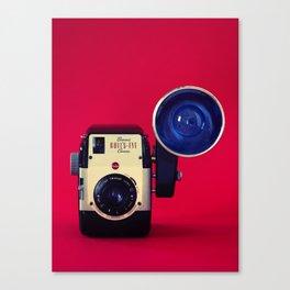 Bull's Eye Camera Canvas Print