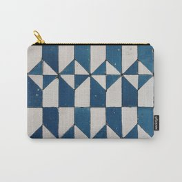 Geometric pattern from the tile museum in Lisbon, Portugal Carry-All Pouch