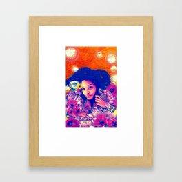 Poppy Love Framed Art Print