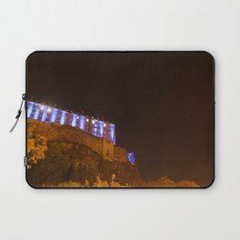Edinburgh Castle in Blue 2 Laptop Sleeve