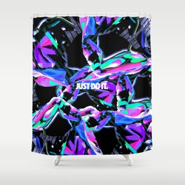 Just Do It 1 Shower Curtain