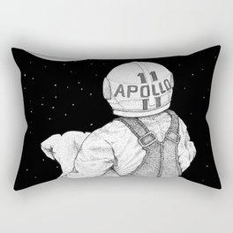Apollo 11 galaxy Rectangular Pillow