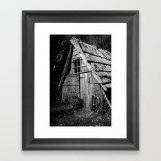 Wood Workers House Framed Art Print