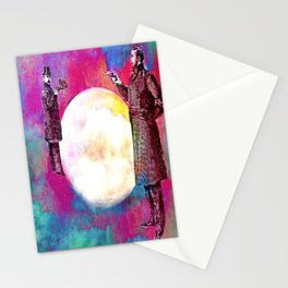 DUEL FOR THE MOON Stationery Cards