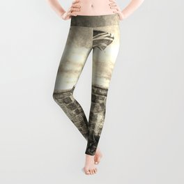 Edinburgh Castle Vintage Leggings