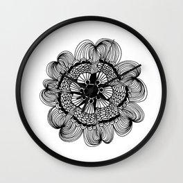 Audrey Mandala Wall Clock