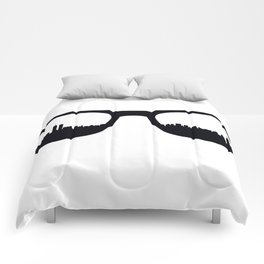 Manhattan Poster Comforters