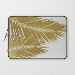 Palm Leaf Gold II Laptop Sleeve
