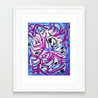 matisse Framed Art Prints featuring Matisse by Jose Luis