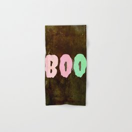 Boo #Halloween #spooky #fun Hand & Bath Towel
