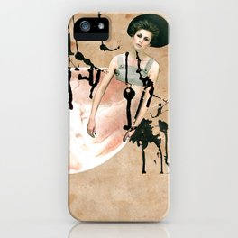 My broken heart iPhone Case