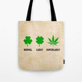 Cannabis / Hemp / Shamrock - Super Lucky mode Tote Bag