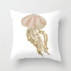 Jelly Paper #2 Throw Pillow