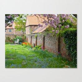 A peaceful corner Canvas Print