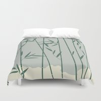 bamboo Duvet Covers featuring Bamboo by Rceeh