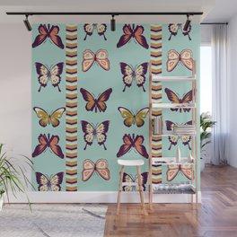 Butterfies II Wall Mural