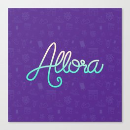 Cool Word Canvas Print