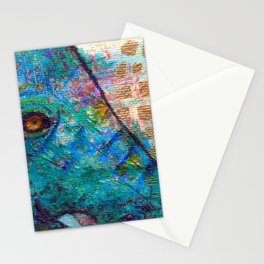 Peek-a-Blue Stationery Cards