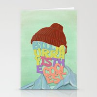 murray Stationery Cards featuring Bill Murray by Dino cogito