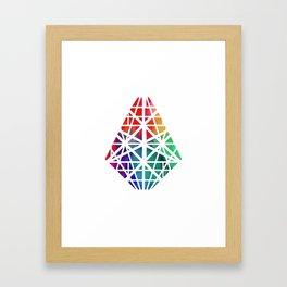 CrystaLight Framed Art Print
