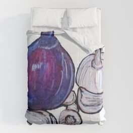 Onion And Garlic Comforters