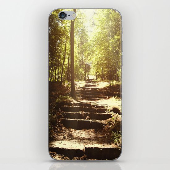 Up the Down Stairs iPhone & iPod Skin