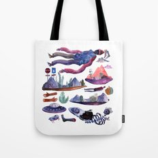 some brain issues Tote Bag