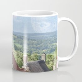 English Village - Sci-Fi collage Coffee Mug