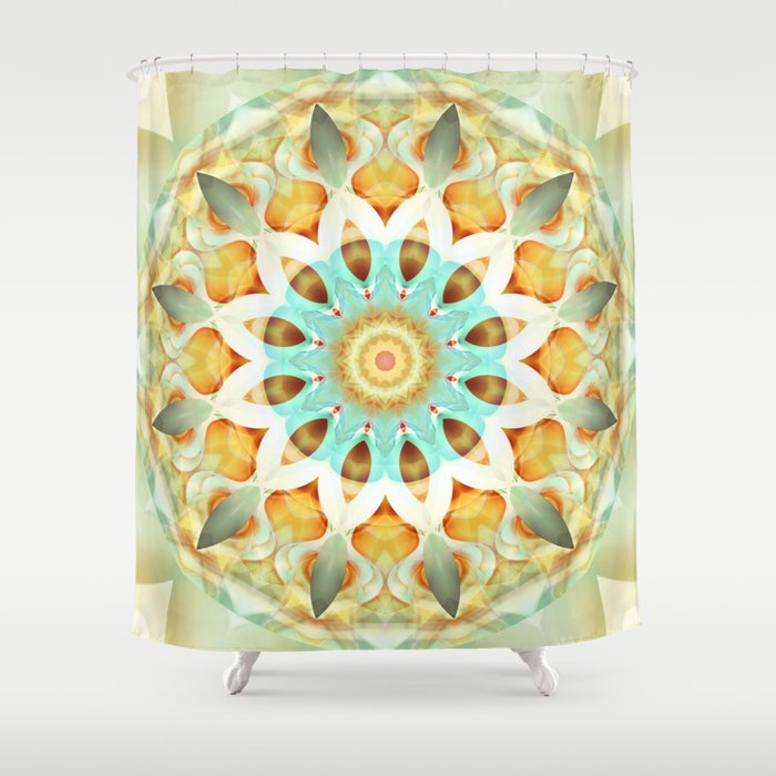 Mandala soft touch Shower Curtain