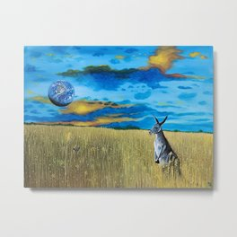 Earth Consciousness Number 4 Metal Print