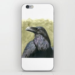 Proud Raven - Watercolor iPhone Skin
