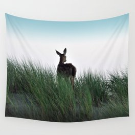 Deer Stop Wall Tapestry