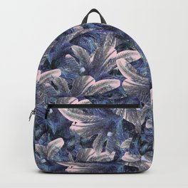 Pinky Palm Tree Pattern Backpack