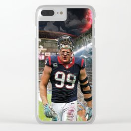 Number 99 Clear iPhone Case