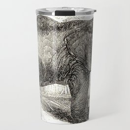 Vintage Elephant Illustration (1891) Travel Mug