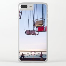 Colored life Clear iPhone Case