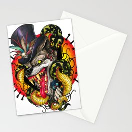Voodoo Wolf Daddy Stationery Cards