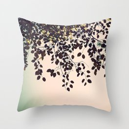 The Leaves Throw Pillow