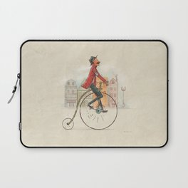 Old cycling Laptop Sleeve