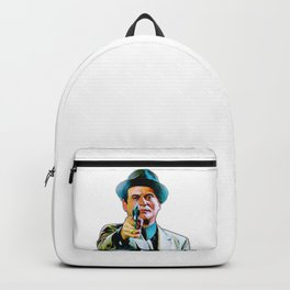 Joe Pesci mafia gangster movie Goodfellas painting Backpack