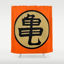 Kame kanji Shower Curtain