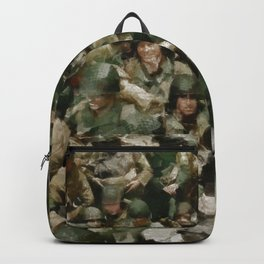 Ghosts of D Day, WWII Backpack