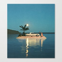 The Reason to Stay Outside Canvas Print