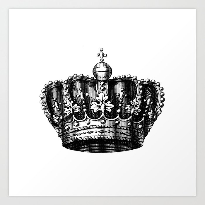 crown Art Print
