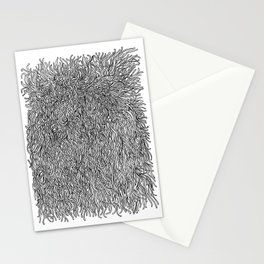 spaghetti texture Stationery Cards